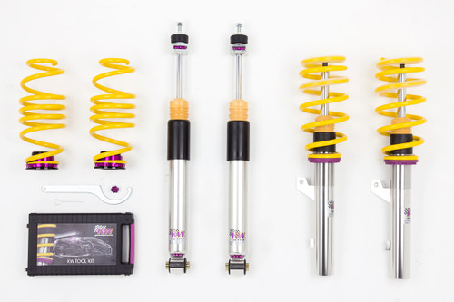 KW Variant 3 Coilovers - Touran Mk2 with DCC