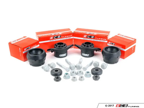 ECS Tuning Heavy Duty Cup Kit/Coilover Installation Kit - Mk4 Platform