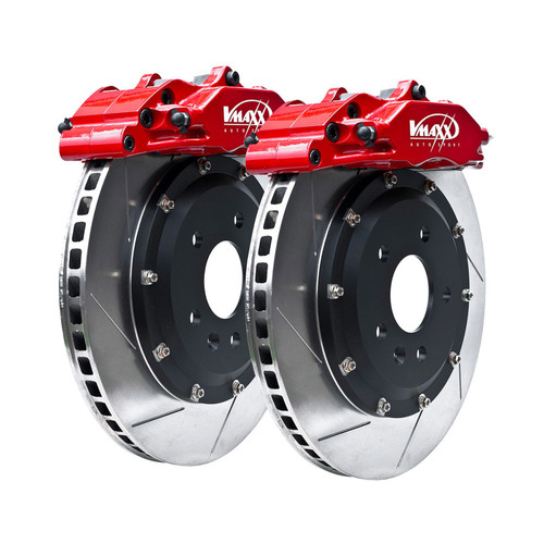 V-Maxx 290mm Big Brake Kit - Arosa All models 4x100 - Carrier as part of hub assembly - Includes new knuckles, bearings and hubs 6H