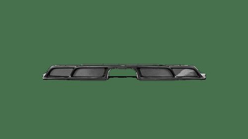 Akrapovic Rear Carbon Fiber Diffuser - Matte - 911 GT3 (991.2)