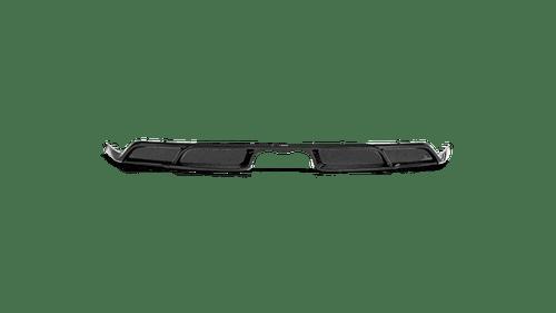 Akrapovic Rear Carbon Fiber Diffuser - High Gloss - 911 GT3 (991.2)