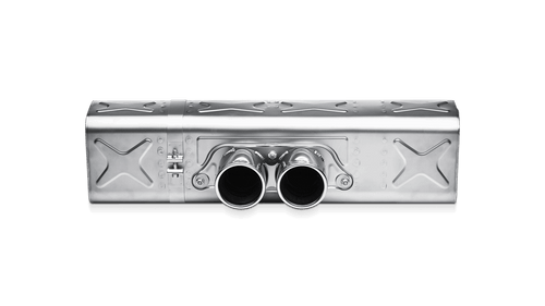 Akrapovic Slip-On Line Titanium Exhaust System - 911 GT3 (991)