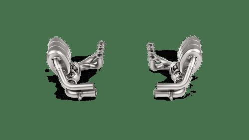 Akrapovic Evolution Header Set (Titanium) - 911 GT3 RS (991.2) - OPF/GPF