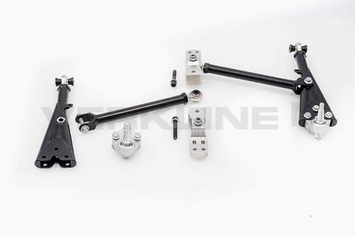 Verkline Adjustable Tubular Front Race Lowered Wishbones - (PQ35)