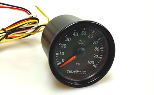 Newsouth Performance 'Indigo' Oil Pressure Gauge - GAU010