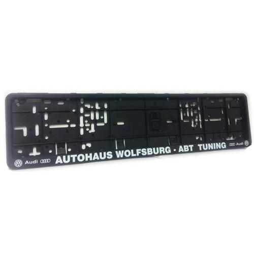 Autohaus Wolfsburg - ABT Number Plate Surround