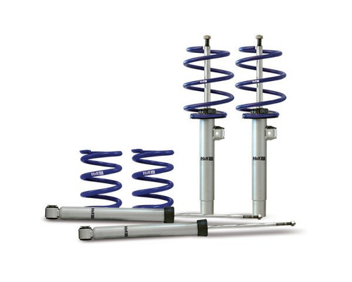 H&R Cup Kit -  Golf Mk5 & Jetta Mk5, 2WD, 50mm front strut upto 1065 kg Front Axle Weight, up to 1030 kg Rear Axle Weight