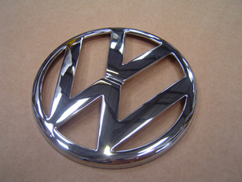 Golf Mk4 Front Chrome VW Badge (Late thin type)