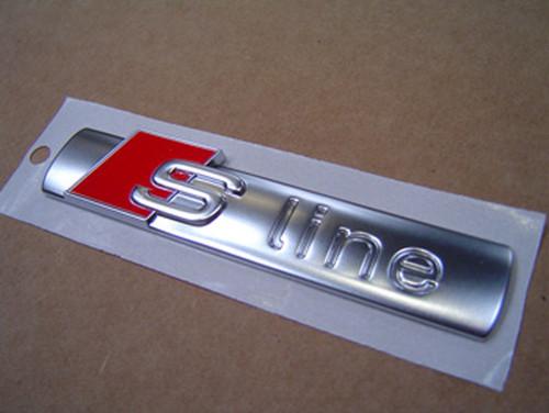 'S-Line' Rear Badge