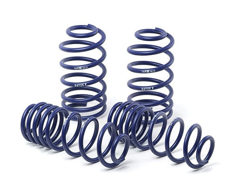 H&R 35mm Spring Kit - Golf Mk5 and Jetta Mk5, 2WD+4WD, from 1021 kg Front Axle-weight