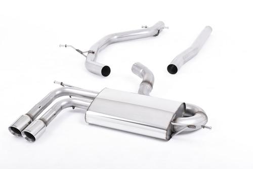 Milltek Cat-Back Exhaust - Scirocco 2.0TDI 170ps