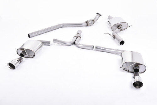 Milltek Cat-Back Exhaust for Audi A4 2.0 TFSI S line B8