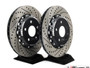 ECS Tuning - 310x22mm Rear Cross-Drilled & Slotted 2-Piece Brake Discs