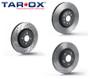 Tarox Front Brake Discs - Volkswagen Jetta Mk5 (1K)