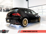 AWE Tuning Mk7 GTI Track Edition Exhaust - Chrome Silver Tailpipes