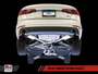 AWE Tuning Audi A4 B9 2.0T Touring Edition Exhaust System