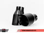 102mm Diamond Black Tailpipes