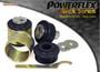 Powerflex Black Front Lower Radius Arm to Chassis Bush Caster Adjustable - A7 Quattro (2012 - ) - PFF3-702GBLK