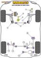Powerflex Rear Lower Spring Mount Inner - Leon Mk2 1P (2005-2012) - PFR85-510