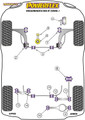 Powerflex Black Rear Lower Link Inner Bush - Eos 1F (2006-) - PFR85-512BLK