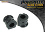 Powerflex Black Front Anti Roll Bar Bush 19mm - Polo MK4 9N/9N3 (2002 - 2008) - PFF85-603-19BLK