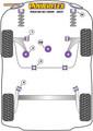 Powerflex Lower Engine Mount Large Bush (Track Use) - Polo MK5 6R/6C (2009 - 2017) - PFF85-620P