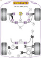 Powerflex Lower Engine Mount Insert (Large) Track Use - Touran (2017 - ) - PFF85-830P