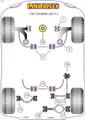 Powerflex Rear Trailing Arm Bush - Touran (2017 - ) - PFR85-816