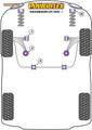 Powerflex Universal Exhaust Mount - Up! (2011 -) - EXH023