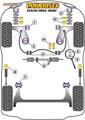 Powerflex Rear Beam Mounting Bush - Vento (1992 - 1998) - PFR85-206