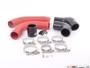 ECS Tuning High Flow Turbo Outlet Pipe Kit - Wrinkle Red - 2.0 TSI Gen3