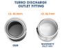Neuspeed 2.0TSI Hi-Flow Turbo Discharge Pipe Kit 48.02.71