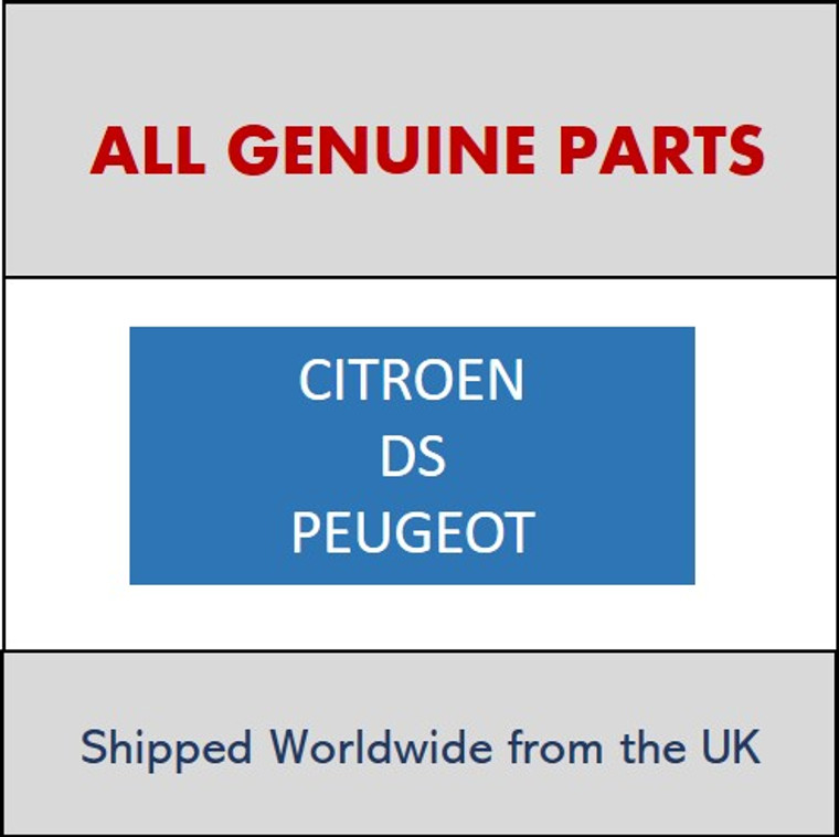Peugeot Citroen DS FITTING 9310N9 Shipped worldwide. Please ask for more information.