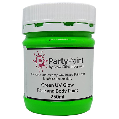 Green UV Glow Face and Body Paint