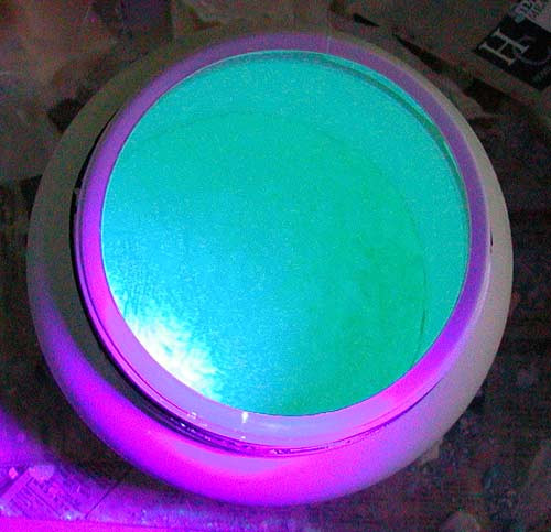 Yellow Green UV Black Light Powder