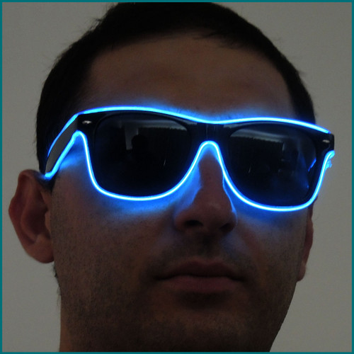 Blue Rave SunGlasses