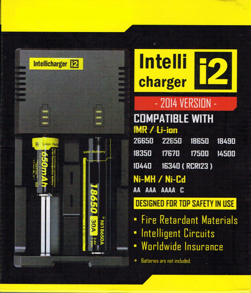 Intellicharger Battery Charger Front Of Box