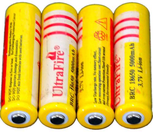 UltraFire 3.7 volt 18650 Li-ion rechargeable Battery