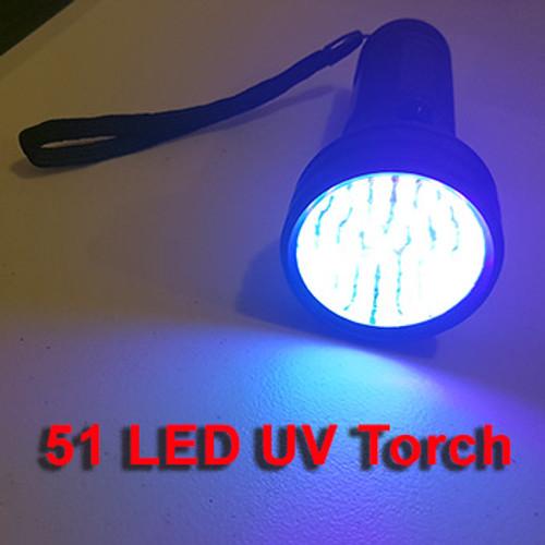 51 LED UV BlackLight Torch