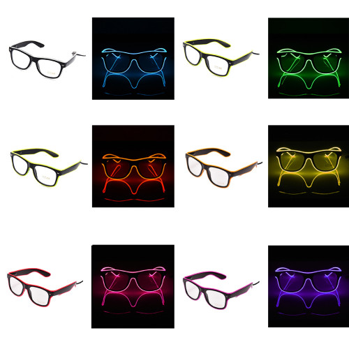EL Glasses with clear lenses