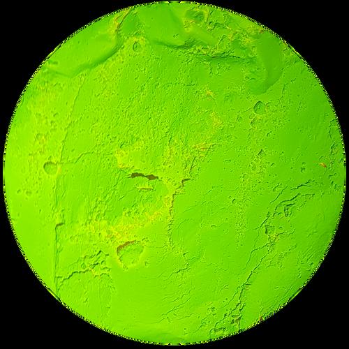 Fluorescent Yellow Pigment Powder