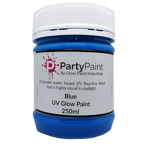 Brilliant Blue UV Glow Paint