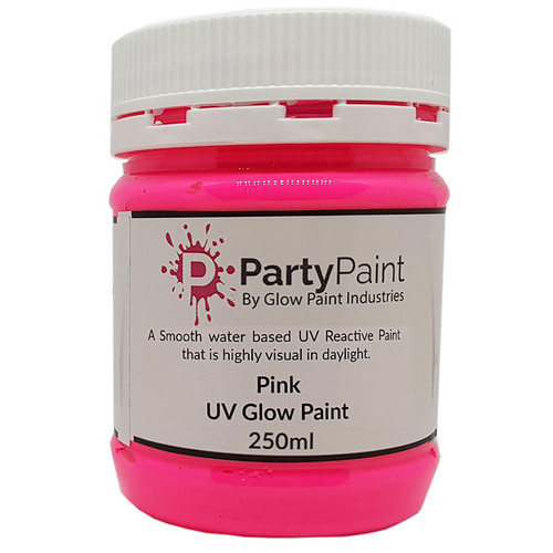 Perfect Pink UV Glow Paint
