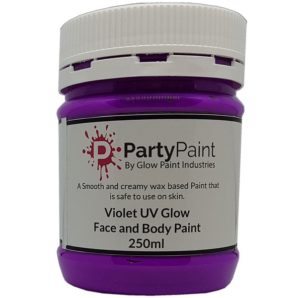 Vivid Violet UV Face And Body Paint
