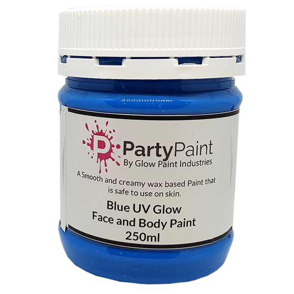 UV Blue Face and Body Paint