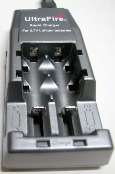 UltraFire 3.7 volt Lithium Batteries Rapid Charger