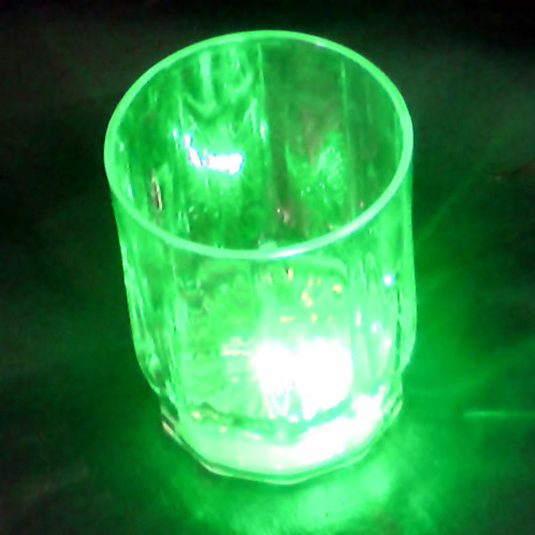 LED Color Changing Shot Glass