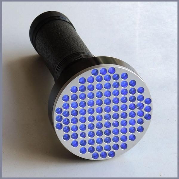 100 LED UV Torch