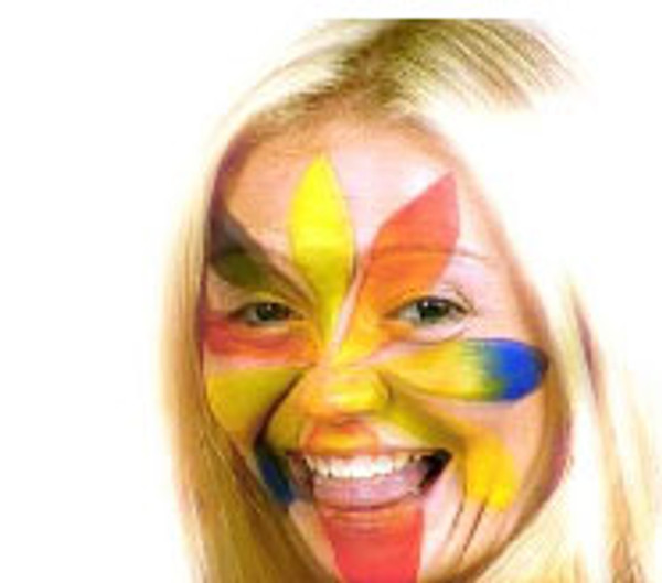 Face Paint On Girl
