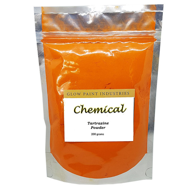 Tartrazine Powder in sealed bag